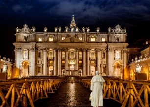 The Vatican - After a full days work